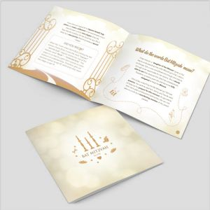 Bas / Bat Mitzvah Guide (Options with & without Bentching)