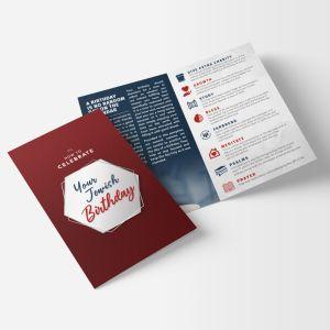 Birthday Campaign Brochure