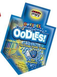 Blue Raspberry Dreidel Oodles