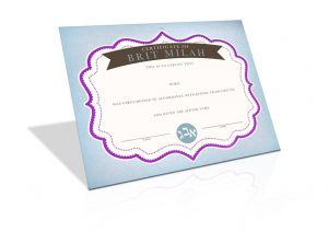 Bris Certificate
