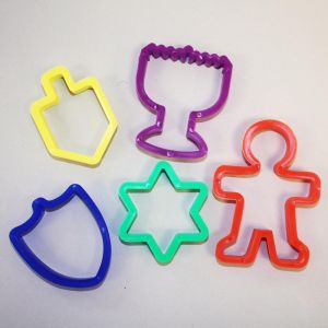 Chanukah Cookie Cutters - Set of 5
