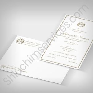 Dinner Invitation Design Package