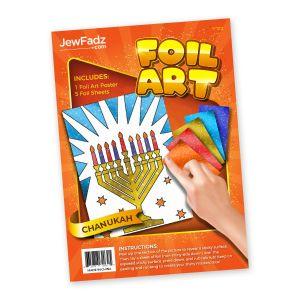 Foil Art-Chanukah Menorah