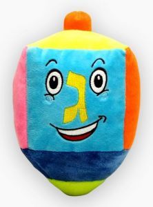 Build / Stuff Your Own Plush Dreidel - 2 sizes!