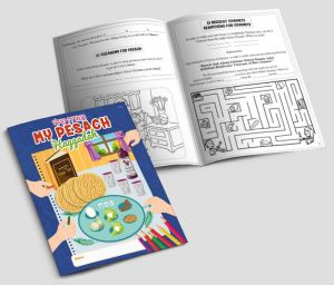 Kids Haggadah Coloring & Activity Book - 24 pages