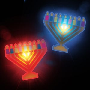 LED Menorah Ring