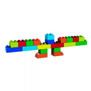 Build Your Own Lego-like Menorah (20 pc set)