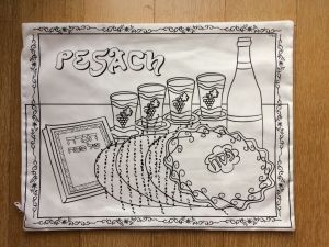 Pesach - Decorate / Color your Own Pillow