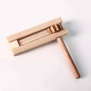 Pre-assembled Wooden Purim Gragger - Ready to Decorate / Paint