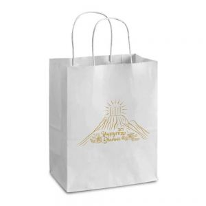 Shavuos Bag, Gold Foil Printing 10 1/4H x 4.5D x 8W (other sizes available)