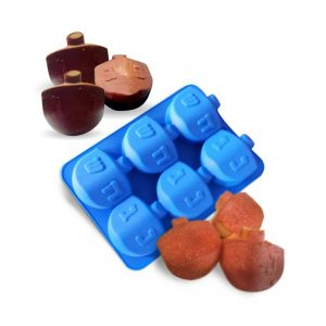 Silicone Dreidel Mold - Perfect for cookies, cakes, chocolate bombs