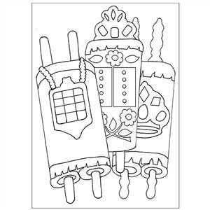 Torah Sand Art (Bulk Cards)