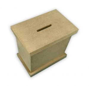 Decorate Your Own Preassembled Tzedakah Box