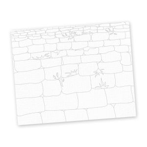 Western Wall Canvas