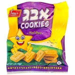 Lieber's Aleph Bais Cookies, 1 Oz