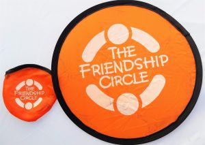 Foldable Frisbees with Pouch - Friendship Circle - Great Mailer!