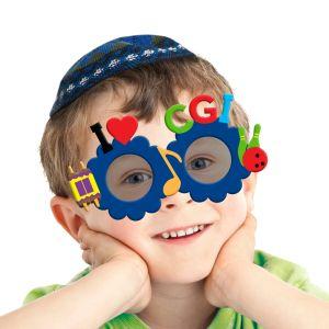 DIY Camp Gan Israel SunGlasses Craft