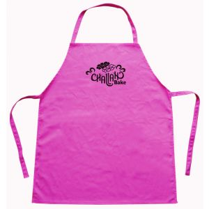 Kids Pink Cotton Challah Bake Aprons