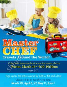 Master Chef Postcard Design